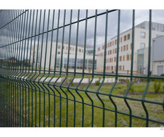Welded Wire Mesh Fence 3d