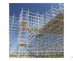 Metal Steel Layer Allround System Heavy Duty Ringlock Scaffolding For Building