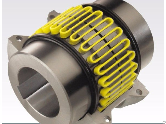 Snakelike Spring Coupling For Middle And Heavy Equipment