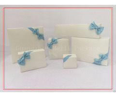 Blue Lovely Bowknot Jewerly Packing Box
