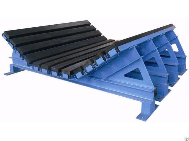 Abrasive Resistance Buffer Bed For Belt Conveyor Ghcc 60