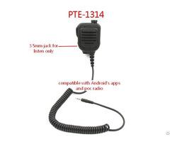 Zello Ptt Walkie Talkie 2 Way Radio Remote Speaker Mic