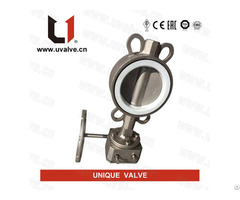 Super Duplex Steel Butterfly Valve