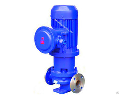 Cqg Stainless Steel Vertical Pipeline Magnetic Pump