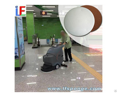 Lfsponge Subway Stations Ground Deep Cleaning Melamine Pads New Nano Sponge Floor Polisher Pad