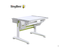 Gas Lift Ergonomic Adjustable Laminate 25mm Desktop Desk Sing Bee