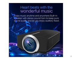 Mini 1080p 1800lumen Portable Lcd Led Projector Home Cinema Usb Hdmi