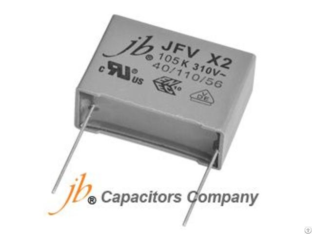 Jfv X2 Metallized Polyproplyene Film Capacitor