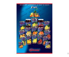 Canned Fruit Origin Slovakia