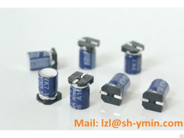 Smd Aluminum Electrolytic Capacitor Super Small Size 7 7mm Height 6000hours