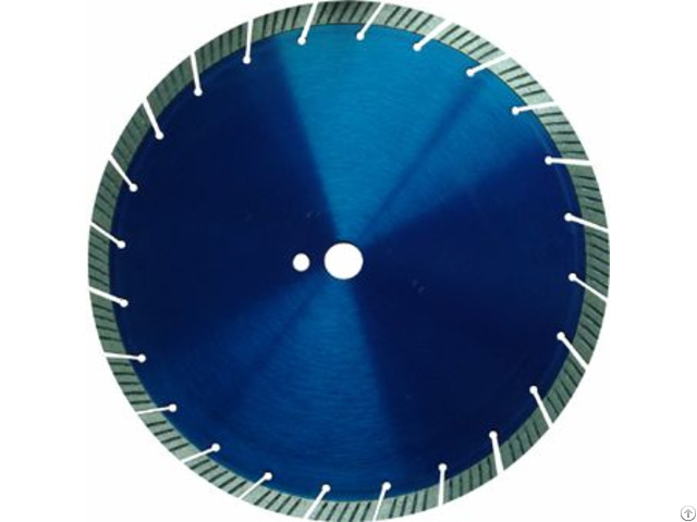 Slant Teeth Segmented Turbo Diamond Blade