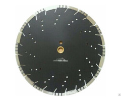Laser Welded Combo Diamond Blade With Slant Slot Cooling Hole