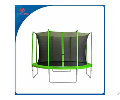 Createfun Kids Toys 10ft Jumping Trampoline With Inside Safety Net