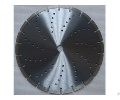 Laser Welded Segmented Diamond Blade With Cooling Hole