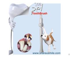 Patented Pet Dog Grooming Toothbrush Dental Care