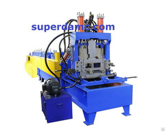 Interchangeable C Z Purlin Roll Forming Machine
