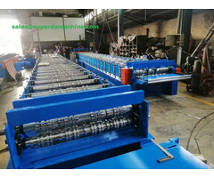 Roll Forming Machines For Making Floor Deck Roof Panel