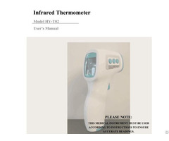 Supply The Infrared Thermometers With Best Quality And Good Price From Factory Directly