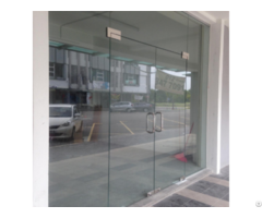 Clear Tempered Toughened Glass Shower Door