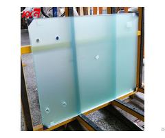Acid Etched Frosted Tempered Glass Manufacturer