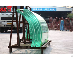Curved Tempered Toughened Glass Supplier China