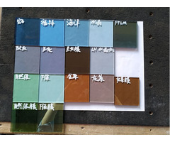 Colored Tinted Tempered Toughened Glass Manufacturer China