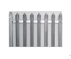 Hot Dipped Galvanised Steel Palisade Fence