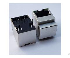 Ykjv 8124nl Hfjv1 2450 L12 Vertical 1 Port Magnetic Rj45 Connectors 100 Base T