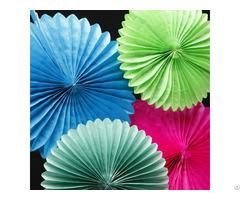 Festival Paper Comb Ball