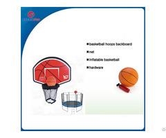 Createfun Trampoline Basketball Hoop For Sale