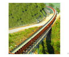 High Efficiency Material Handling Equipment Belt Conveyor With Ce Iso