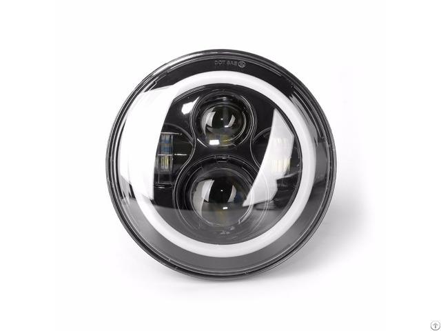 Nokpro 7 Inch Led Headlight High Low Beam Angle Eye Driving Lamp N421r 40