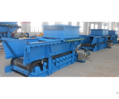 New Type Manual Control Belt Feeder For Material Handling System