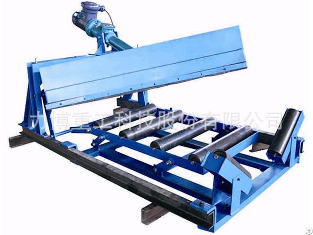 Plow Unloader For Conveyor System