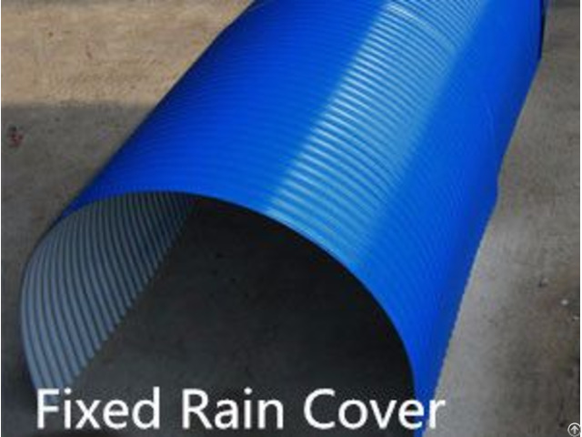 Color Plate Conveyor Rain Cover With Ce Iso Sgs