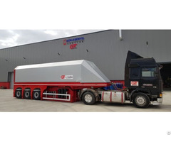 Inloader Glass Semi Trailer