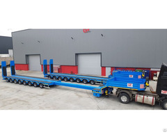 Telescopic Extension 8 Axle Lowbed