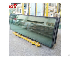Tempered Insulated Curved Glass Toughened Double Glazing