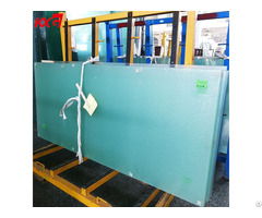 Decoration 6 76mm Frosted Pattern Laminated Glass