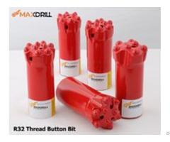 Maxdrill R32 43 Button Bits