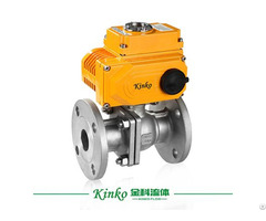Automatic Ball Valve With Electric Actuator