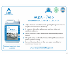 Premium Carpet Cleaner Aqsa 7416