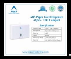 Abs Paper Towel Dispensers Aqsa 7241 Compact