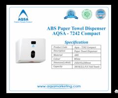 Abs Paper Towel Dispensers Aqsa 7242 Compact