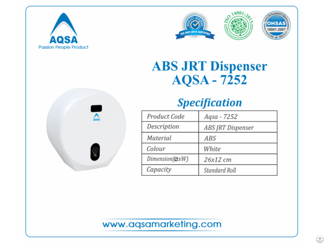 Abs Jrt Dispensers Aqsa 7252