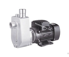 Self Priming Open Impeller Stainless Steel Hygienic Pump