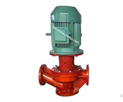 Sl Vertical Pipeline Fiberglass Plastic Centrifugal Pump