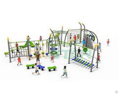 Large Multifunctional Climbing Outdoor Gym Slide