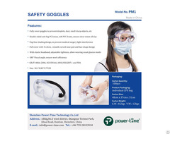 Protective Surgical Safety Goggles Anti Saliva Fog Glasses