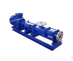 Single Screw Rotor Slurry Sewage Pump